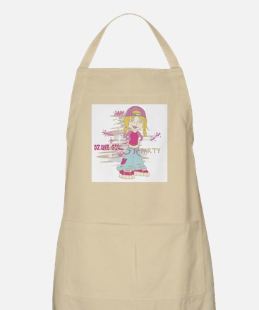 Girl Party BBQ Apron