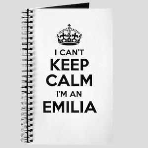 I can't keep calm Im EMILIA Journal