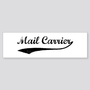 Mail Carrier (vintage) Bumper Sticker