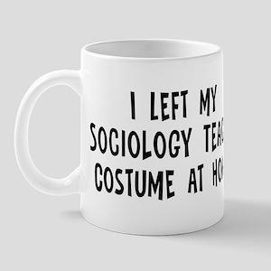Left my Sociology Teacher Mug