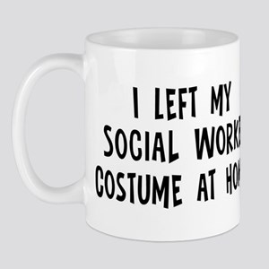 Left my Social Worker Mug