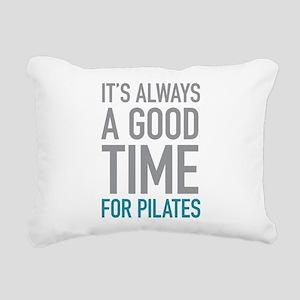 Pilates Rectangular Canvas Pillow