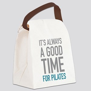 Pilates Canvas Lunch Bag