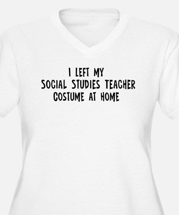 Left my Social Studies Teache T-Shirt