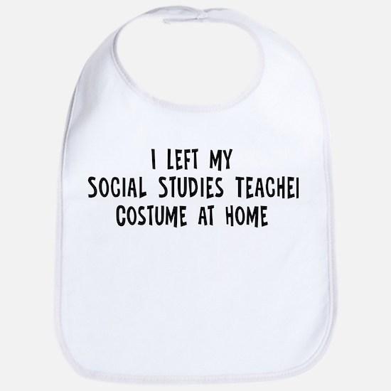 Left my Social Studies Teache Bib