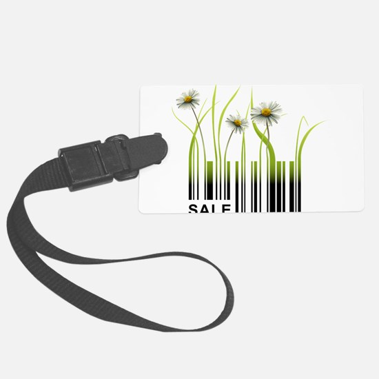 Barcode plant design Luggage Tag