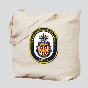 USS Bonhomme Richard (LHD 6) Tote Bag