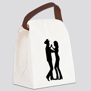 Country dancing Canvas Lunch Bag