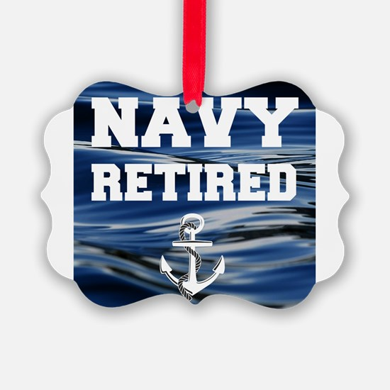 Navy Retired Ornament
