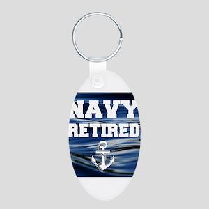Navy Retired Keychains