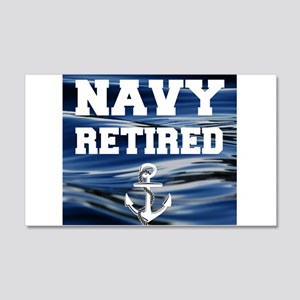 Navy Retired Wall Decal