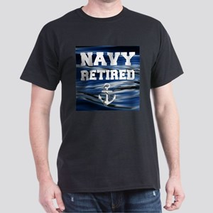 Navy Retired T-Shirt