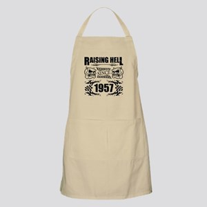 Raising Hell Since 1957 Light Apron