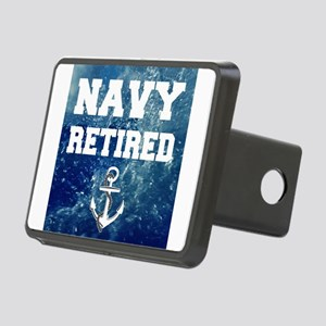 Navy Retired Hitch Cover