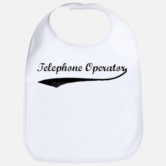 Left my Telephone Operator Bib