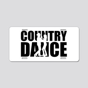 Country dance Aluminum License Plate