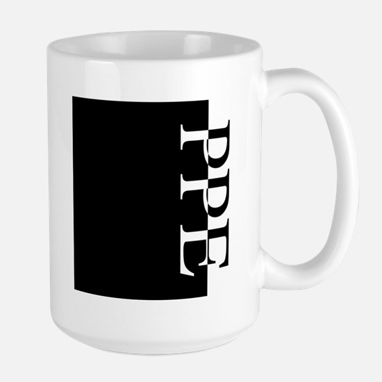PPE Typography Mugs