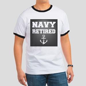 Navy Retired T-Shirt