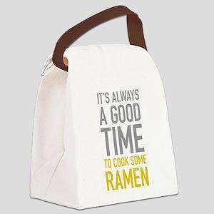 Cook Ramen Canvas Lunch Bag