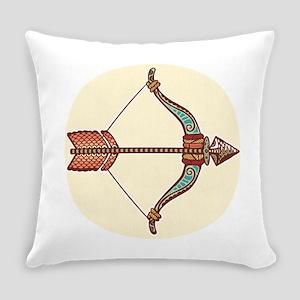 Sagittarius zodiac sign Everyday Pillow