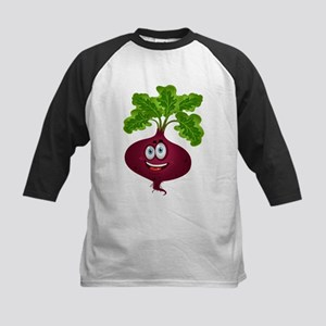 Smiley beetroot Vegetable cartoon Baseball Jersey