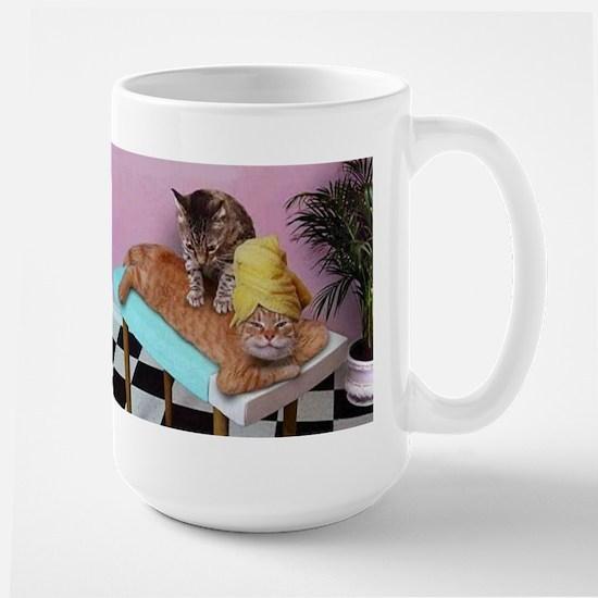 Funny Cat Massage Mugs