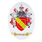 Twigg Oval Ornament