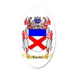 Tweedie Oval Car Magnet