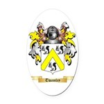 Twamley Oval Car Magnet
