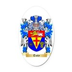 Tutty Oval Car Magnet