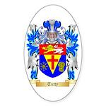 Tutty Sticker (Oval 50 pk)
