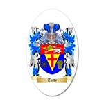 Tutty 35x21 Oval Wall Decal