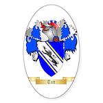 Tutt Sticker (Oval 10 pk)