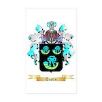 Tustin Sticker (Rectangle 50 pk)