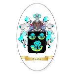 Tustin Sticker (Oval 10 pk)