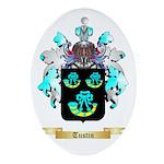 Tustin Oval Ornament