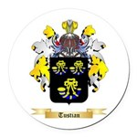 Tustian Round Car Magnet
