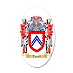 Turrill 35x21 Oval Wall Decal