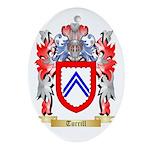 Turrill Oval Ornament