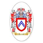 Turrell Sticker (Oval 50 pk)