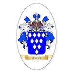 Turpie Sticker (Oval 50 pk)
