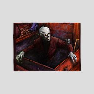 Dracula Nosferatu Vampire 5'x7'Area Rug