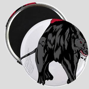Scary werewolf art Magnets