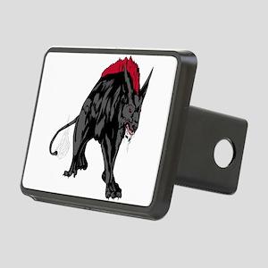 Scary werewolf art Rectangular Hitch Cover