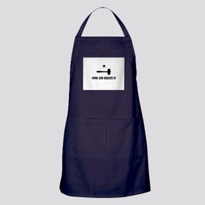 Come and Debate It Apron (dark)
