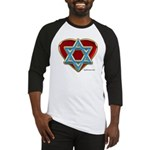 Heart For Israel Baseball Jersey