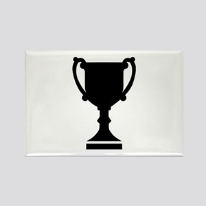 Champion winner cup Rectangle Magnet