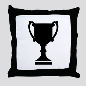 Champion winner cup Throw Pillow