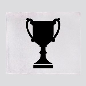 Champion winner cup Throw Blanket