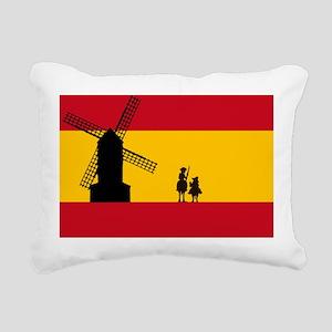 Don Quixote Rectangular Canvas Pillow
